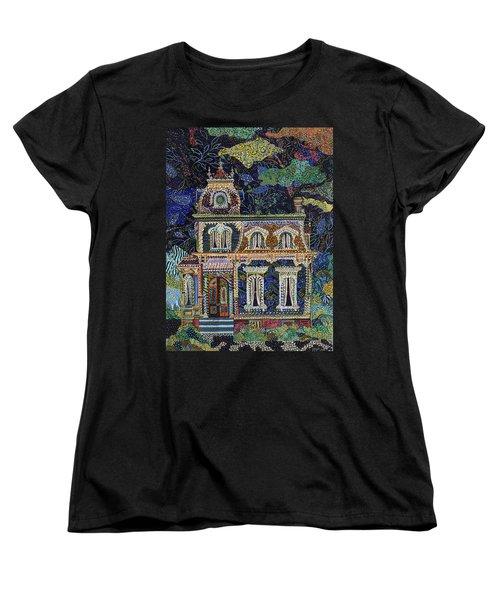 When The Lights Go Out Women's T-Shirt (Standard Cut) by Erika Pochybova