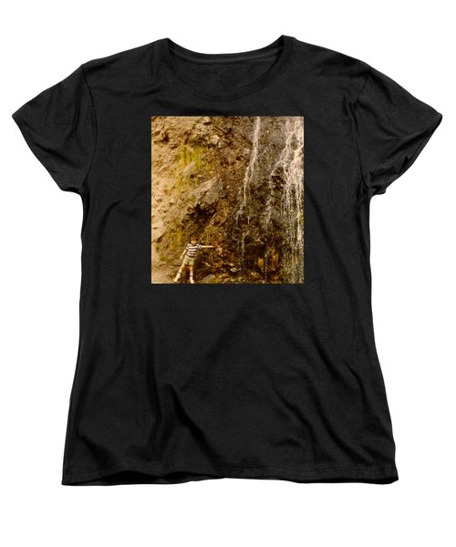 Where Is The Soap Women's T-Shirt (Standard Cut) by Amazing Photographs AKA Christian Wilson