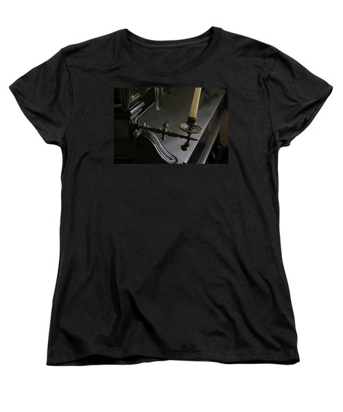 Where Music Once Played Women's T-Shirt (Standard Cut) by Yvonne Wright