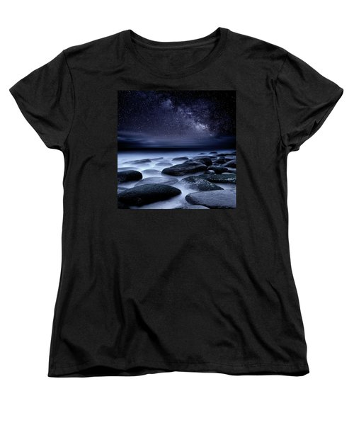 Where No One Has Gone Before Women's T-Shirt (Standard Cut) by Jorge Maia