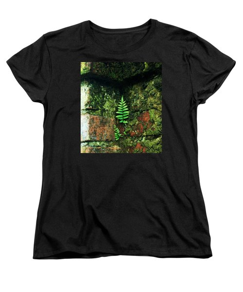 Women's T-Shirt (Standard Cut) featuring the photograph Where There Is A Will by John Glass
