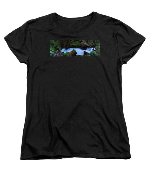 Women's T-Shirt (Standard Cut) featuring the photograph Which Way by David Andersen