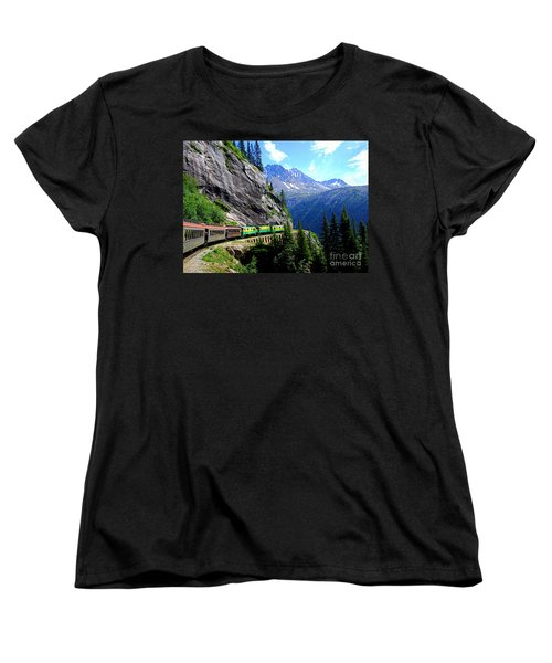 White Pass And Yukon Route Railway In Canada Women's T-Shirt (Standard Cut)