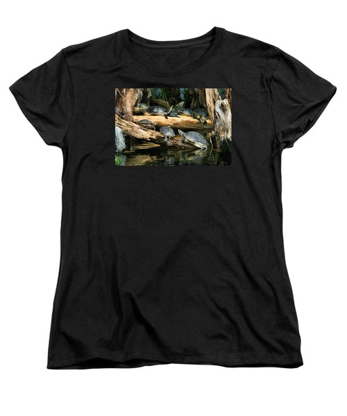 Who Called This Meeting Anyway Women's T-Shirt (Standard Cut) by Kristin Elmquist