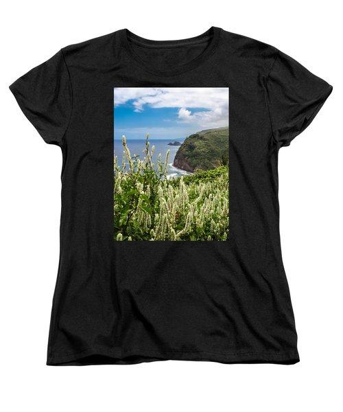 Wild Flowers At Pololu Women's T-Shirt (Standard Cut) by Denise Bird