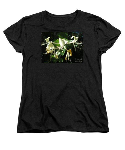 Wild Honeysuckle Women's T-Shirt (Standard Cut) by Martin Howard