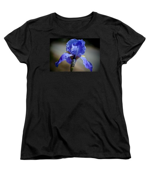 Wild Iris Women's T-Shirt (Standard Cut) by Ron White