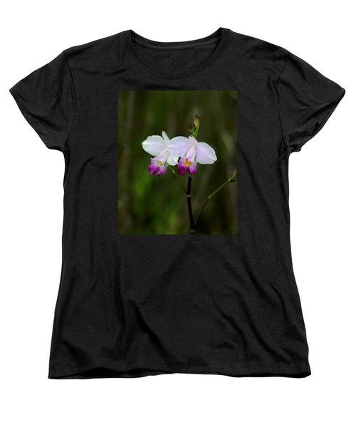 Wild Orchid Women's T-Shirt (Standard Cut) by Pamela Walton