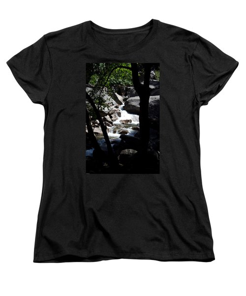Women's T-Shirt (Standard Cut) featuring the photograph Wild River by Brian Williamson