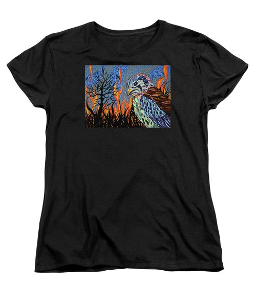 Wildflire Women's T-Shirt (Standard Cut) by Erika Pochybova