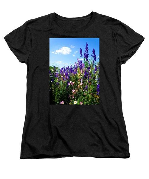 Wildflowers #9 Women's T-Shirt (Standard Cut) by Robert ONeil
