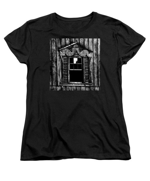 Window Pane Women's T-Shirt (Standard Cut) by Robert Geary