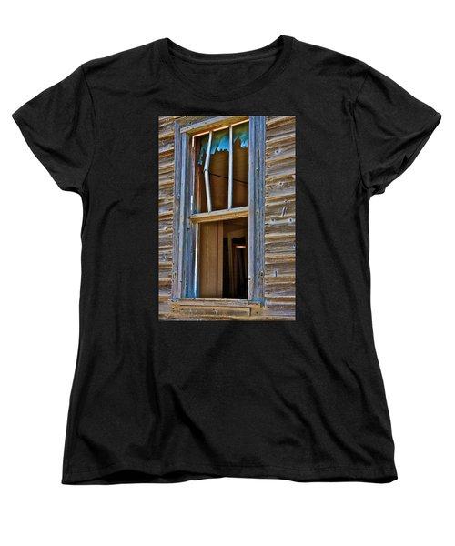 Window With A Light Women's T-Shirt (Standard Cut) by Johanna Bruwer