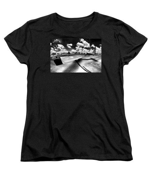 Wing Art Women's T-Shirt (Standard Cut) by Paul Job