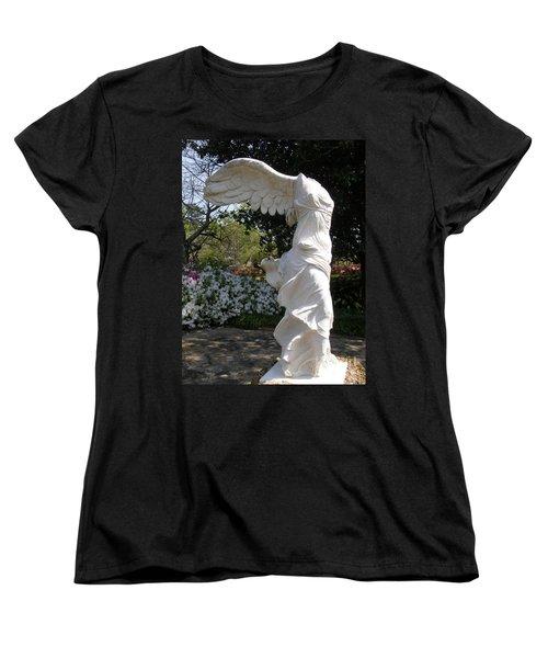 Winged Victory Nike Women's T-Shirt (Standard Cut) by Caryl J Bohn