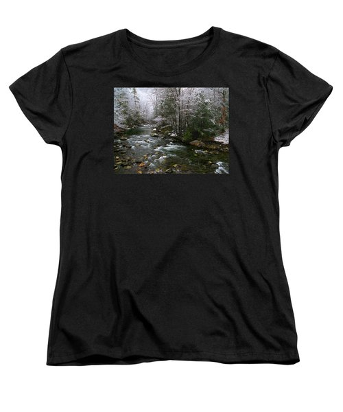 Winter Fresh Women's T-Shirt (Standard Cut) by Michael Eingle