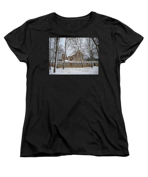 Women's T-Shirt (Standard Cut) featuring the photograph Old Monastery by Gabriella Weninger - David