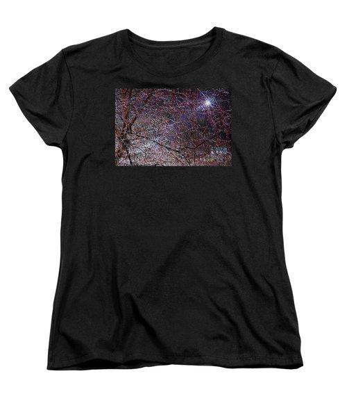 Winter Sun Women's T-Shirt (Standard Cut) by Tom Culver