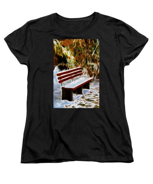 Winters Dream Women's T-Shirt (Standard Cut) by Mariola Bitner