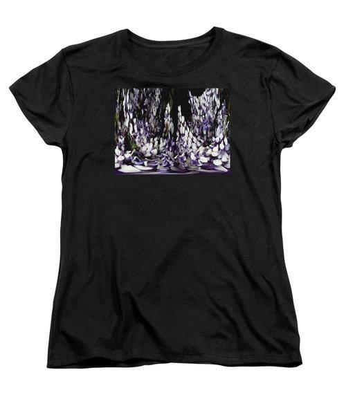 Wisteria Dreams Women's T-Shirt (Standard Cut)