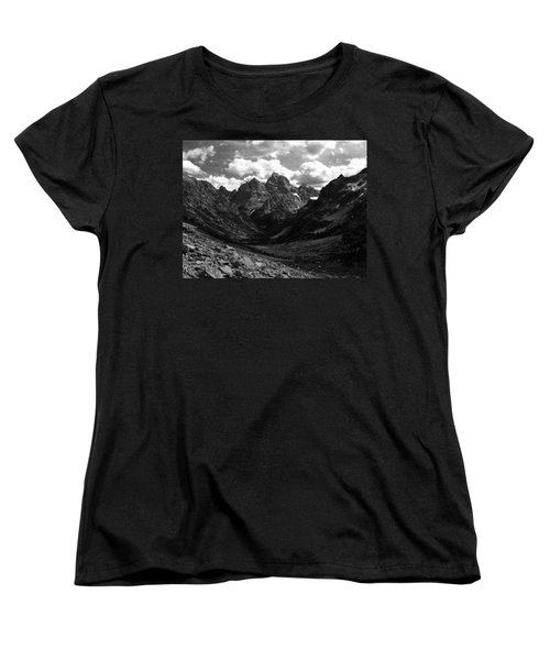 Women's T-Shirt (Standard Cut) featuring the photograph Within The North Fork Of Cascade Canyon by Raymond Salani III