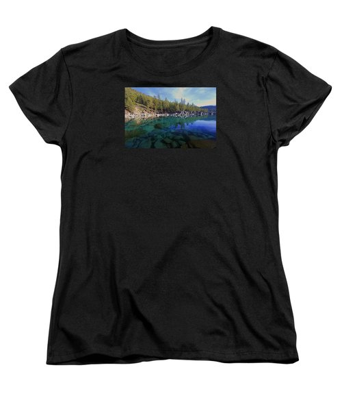 Women's T-Shirt (Standard Cut) featuring the photograph Wondrous Waters by Sean Sarsfield
