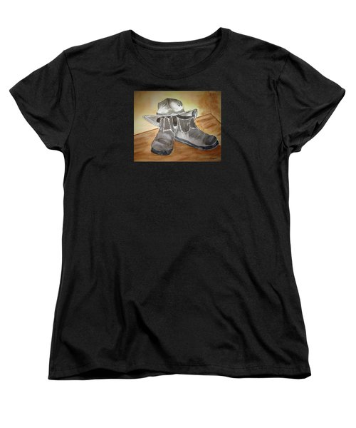 Working On The Land Women's T-Shirt (Standard Cut) by Elvira Ingram