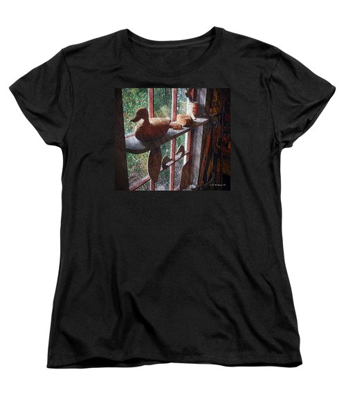 Workshop Window Women's T-Shirt (Standard Cut) by Brian Wallace