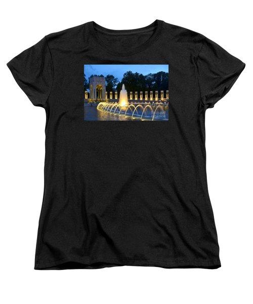 World War II Memorial Women's T-Shirt (Standard Cut)