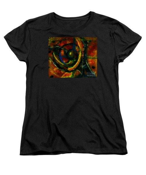 Worship In Movement Women's T-Shirt (Standard Cut) by Leanne Seymour