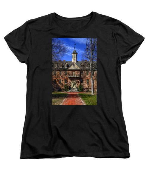 Wren Building Main Entrance Women's T-Shirt (Standard Cut) by Jerry Gammon