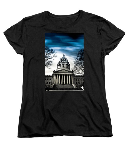 Wv State Capitol Building Women's T-Shirt (Standard Cut)