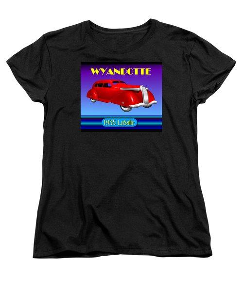 Wyandotte 1935 Lasalle Women's T-Shirt (Standard Cut) by Stuart Swartz