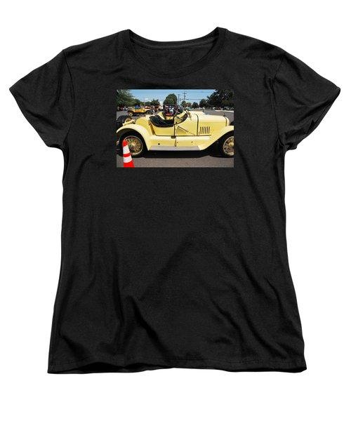 Yellow Mercer Women's T-Shirt (Standard Cut) by Mustafa Abdullah
