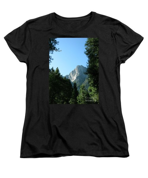 Yosemite Park Women's T-Shirt (Standard Cut) by Mini Arora