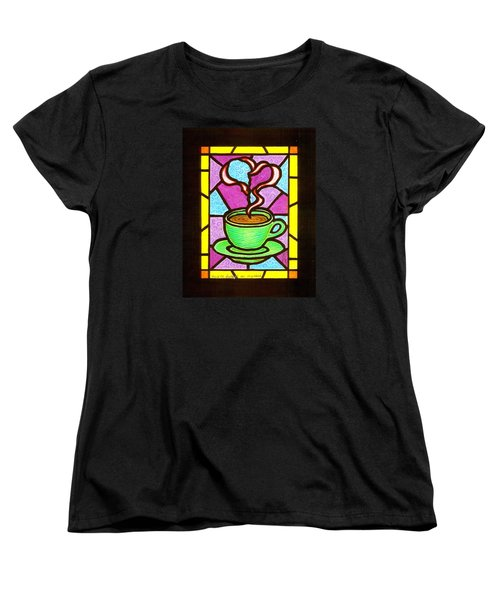You Are Always On My Mind Women's T-Shirt (Standard Cut) by Jim Harris