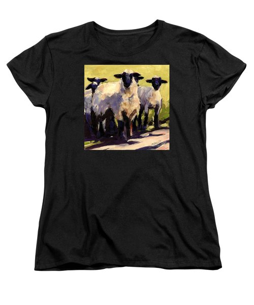 You First Women's T-Shirt (Standard Cut) by Molly Poole