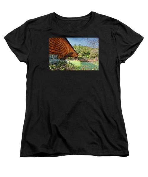 Women's T-Shirt (Standard Cut) featuring the photograph Yuba State Park by Jim Thompson