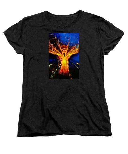 Zeus Women's T-Shirt (Standard Cut) by Daniel Thompson