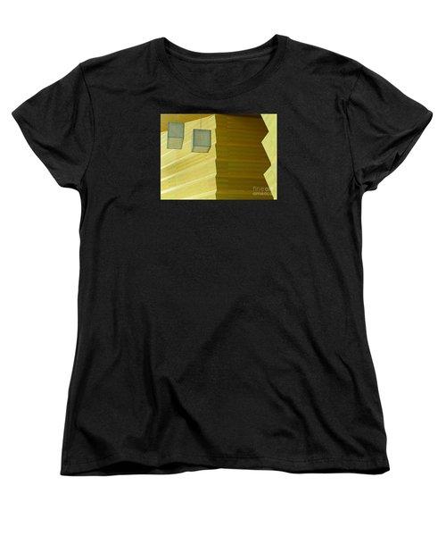 Women's T-Shirt (Standard Cut) featuring the photograph Zig-zag by Ann Horn