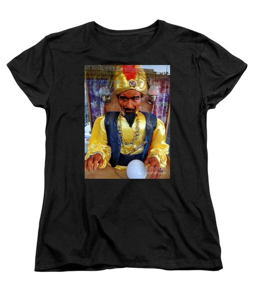 Women's T-Shirt (Standard Cut) featuring the photograph Zoltar by Ed Weidman