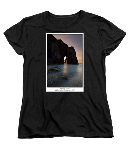 Gateway To The Sun Women's T-Shirt (Standard Cut) by Beverly Cash