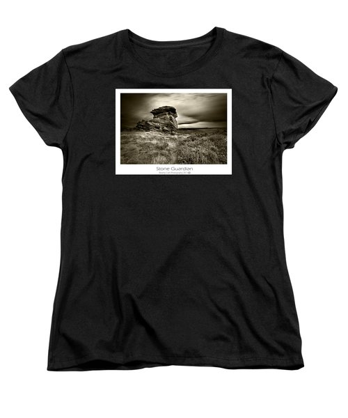Women's T-Shirt (Standard Cut) featuring the photograph  Stone Guardian by Beverly Cash