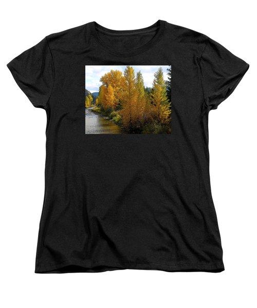 Fall Colors Women's T-Shirt (Standard Cut) by Steve McKinzie