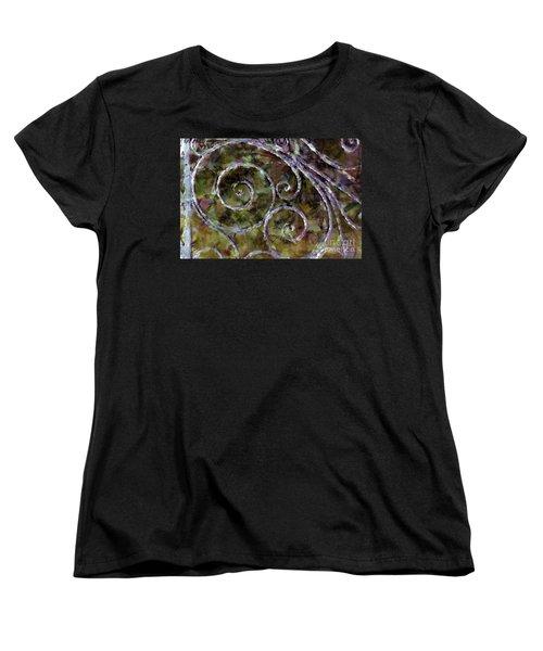 Iron Gate Women's T-Shirt (Standard Cut) by Donna Bentley