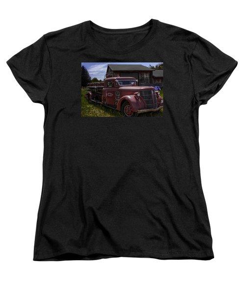 1939 American Lafrance Foamite Women's T-Shirt (Standard Cut) by Tom Gort
