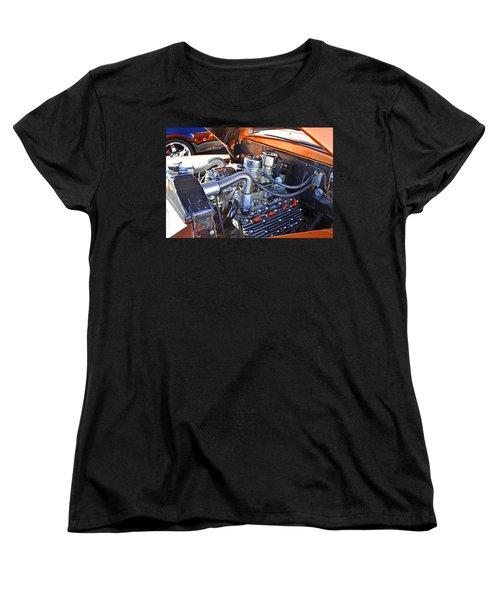 Women's T-Shirt (Standard Cut) featuring the photograph 1941 Flathead Ford by Paul Mashburn