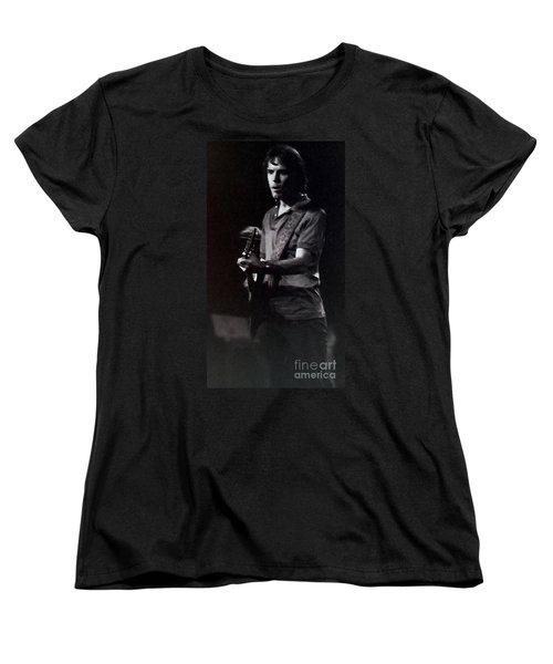 Women's T-Shirt (Standard Cut) featuring the photograph Bob Weir Of The Grateful Dead by Susan Carella