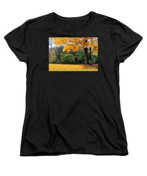 Women's T-Shirt (Standard Cut) featuring the photograph Tree Of Gold by Joe  Ng