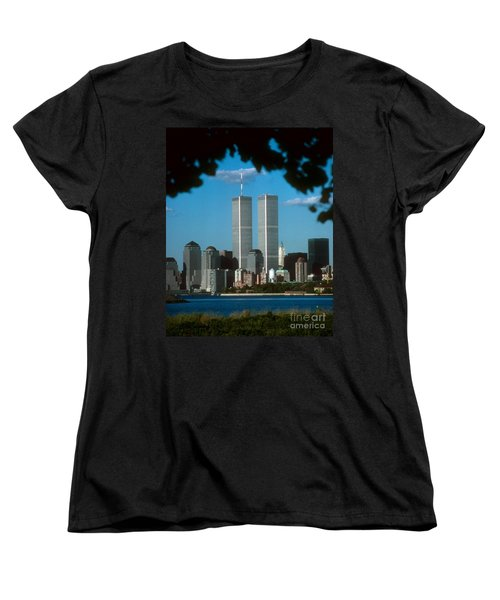 View From Liberty State Park Women's T-Shirt (Standard Cut) by Mark Gilman